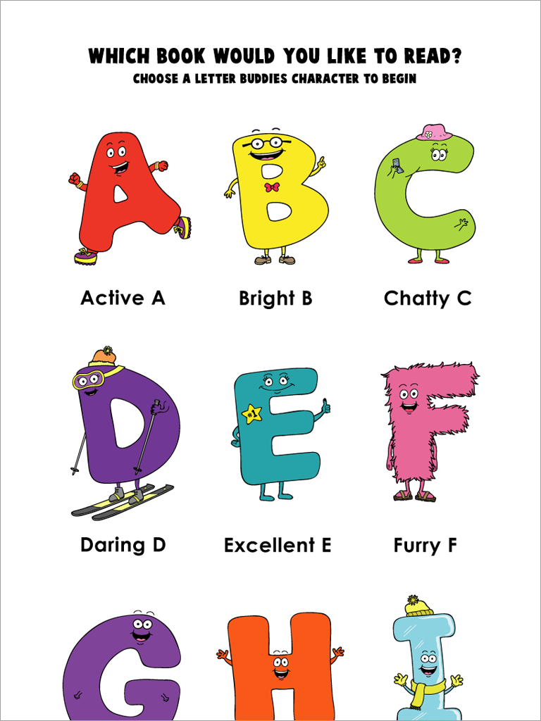 Letter Bud s AlphaBooks App Review